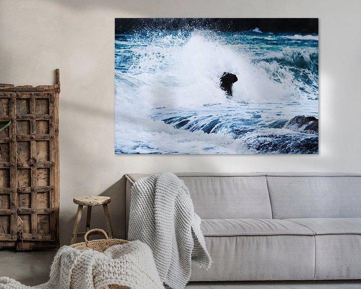 Sfeerimpressie: Waves II van Herbert Seiffert