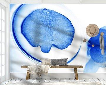 Delftsblauwe Bloemen - Theepot 28 van Mariska van Vondelen