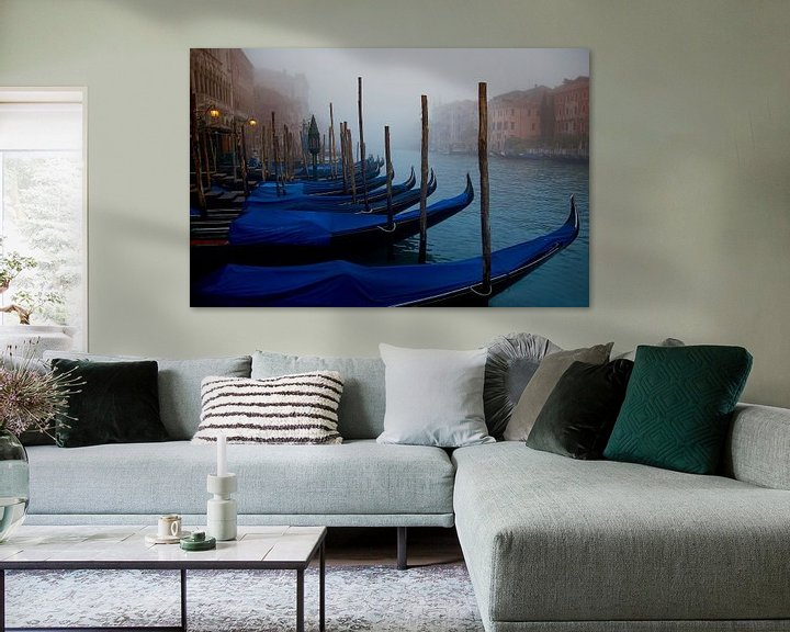Sfeerimpressie: Venetiaanse Ochtend  van Ruud van der Lubben