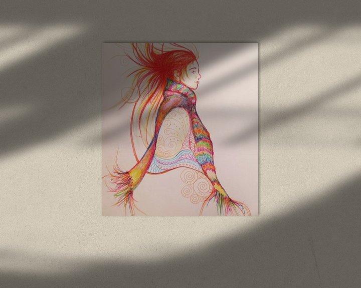 Sfeerimpressie: Met rode streepjes van Helma van der Zwan