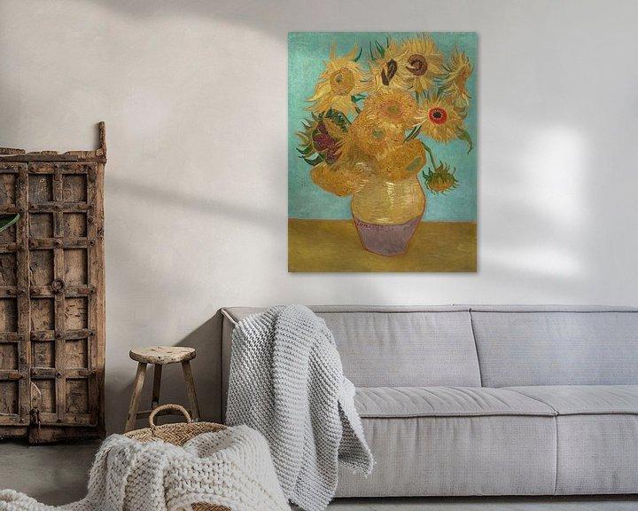 Beispiel: Zwölf Sonnenblumen - Vincent van Gogh
