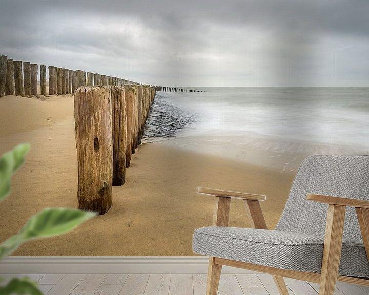 Sfeerimpressie behang: Pure Sea van Philippe Velghe