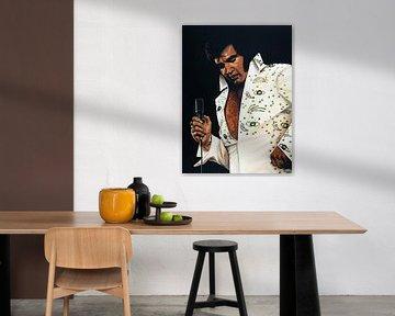 Elvis Presley schilderij von Paul Meijering