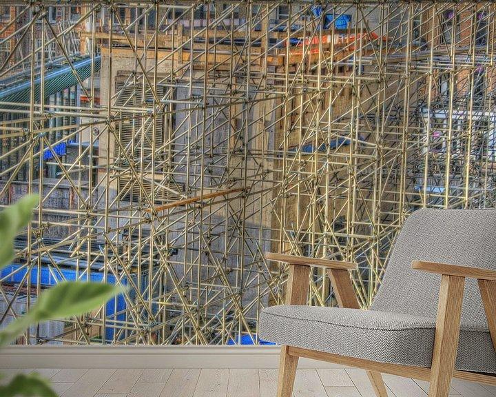 Sfeerimpressie behang: Steiger in HDR van Philip Nijman