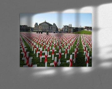 World aids day op het Museumplein