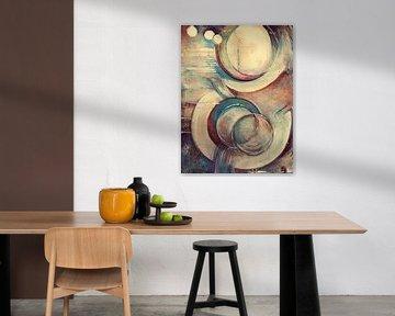 abstract painting.. von Els Fonteine