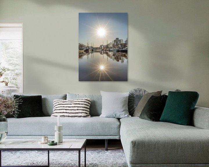 Sfeerimpressie: Dubbele zon van Harrie Muis