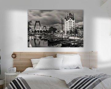 Weißes Haus in Rotterdam von Lorena Cirstea