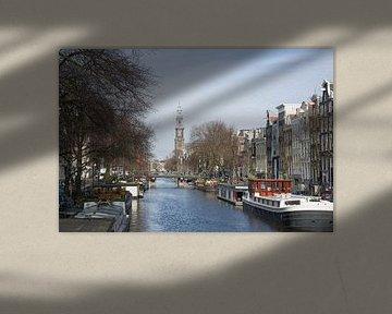 Prinsengracht im Amsterdam von Barbara Brolsma