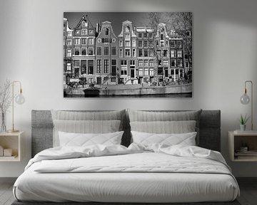 Grachtenhauser in Amsterdam von Barbara Brolsma