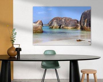 Idyllisch strand, Australië
