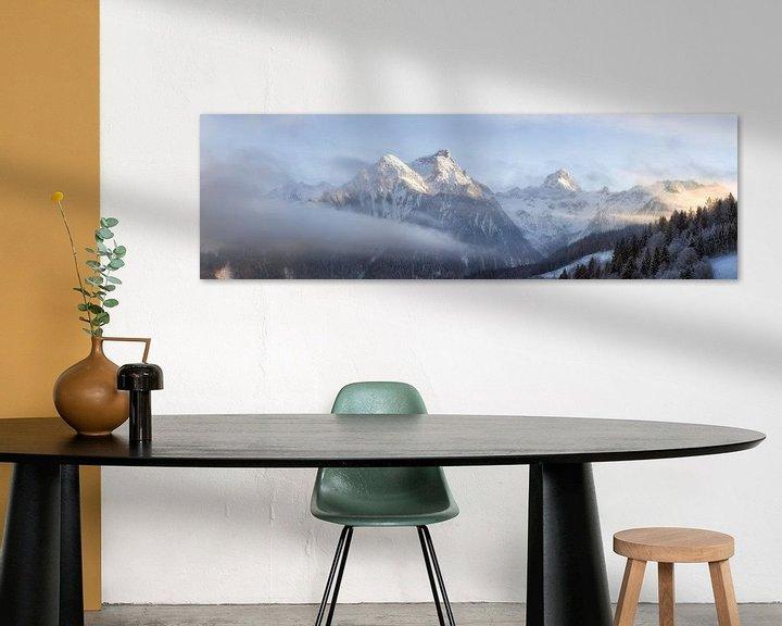 Sfeerimpressie:  Oostenrijks winterlandschap , Brandnertal van Fotografie Egmond
