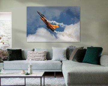 Niederländische Luftwaffe F-16 Fighting Falcon von Dirk Jan de Ridder