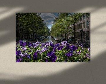 Grachten van Amsterdam van Elbertsen Fotografie