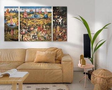 Der Garten der Lüste - Triptychon - Hieronymus Bosch