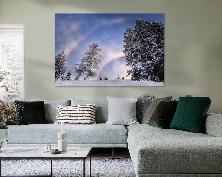 Sfeerimpressie: sneeuwboog van Fotografie Egmond