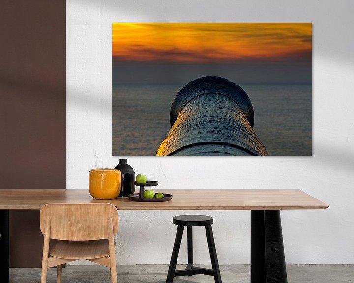 Sfeerimpressie: Kanon te Vlissingen 2 van Anton de Zeeuw