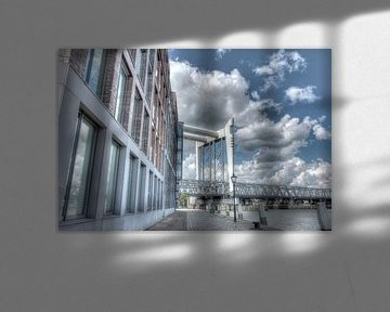 Dordrecht, spoorbrug van Jeroen van Alten