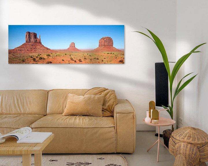Impression: Faszinierendes Monument Valley   Panorama  sur Melanie Viola