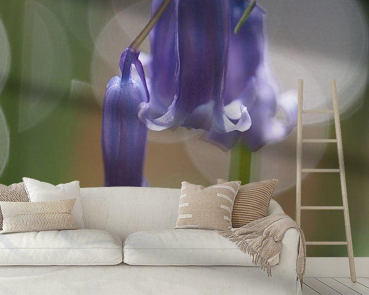 Beispiel fototapete: Paarse boshyacint von Astrid Brouwers