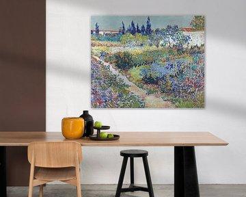 Vincent van Gogh. Tuin te Arles