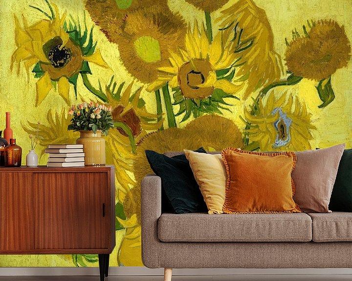 Beispiel fototapete: Sonnenblumen - Vincent van Gogh
