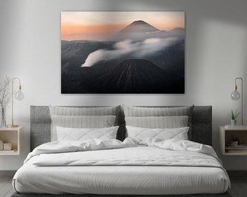 Zonsopkomst Mount Bromo Vulkaan - Oost-Java, Indonesië von Martijn Smeets