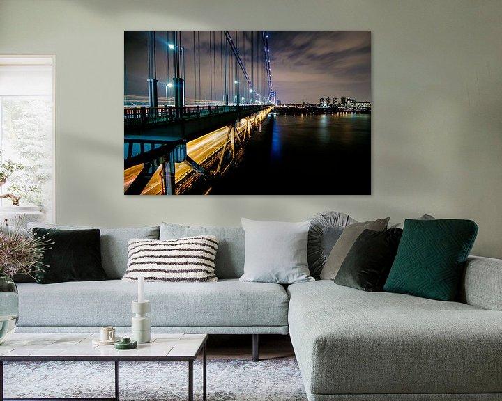 Impression: Rush hour on the bridge sur Fabian Bosman