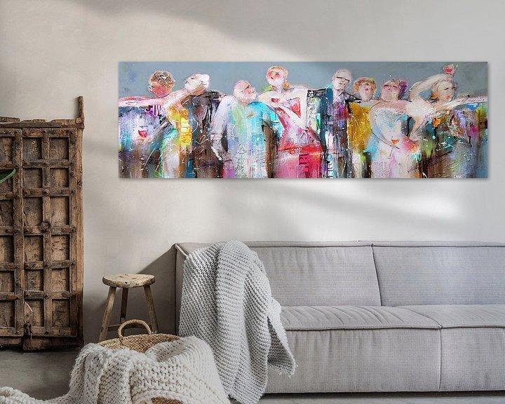 Beispiel: Party people von Atelier Paint-Ing