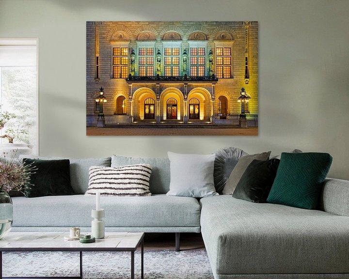 Sfeerimpressie: Stadhuis Rotterdam van Anton de Zeeuw