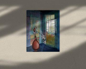 Harmonie in de kamer van Gertrud Scheffler