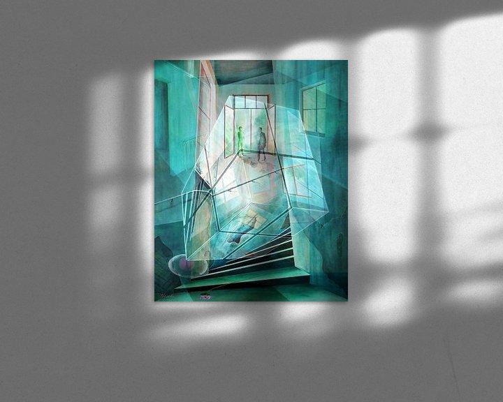 Beispiel: Cubus im Raum von Gertrud Scheffler