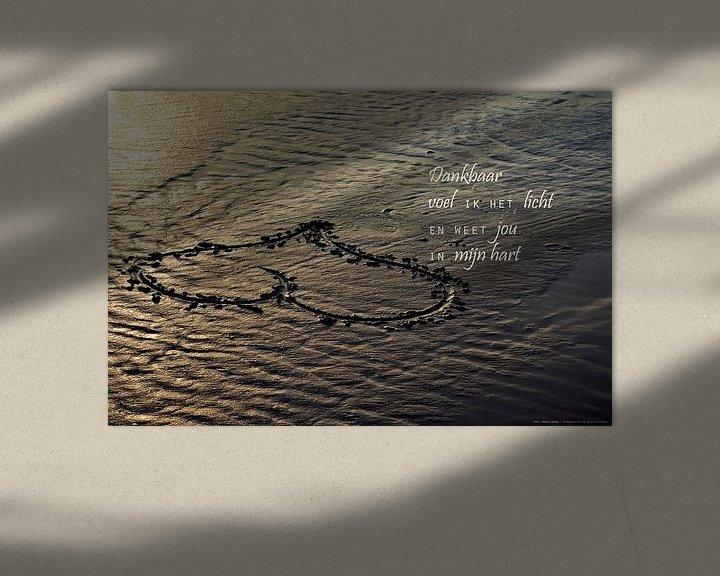 Sfeerimpressie: Een hart in het zand van Beeld en Poëzie