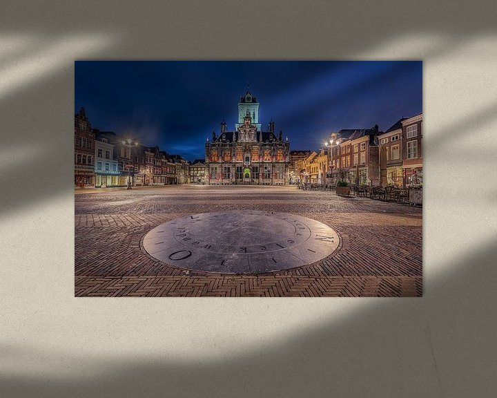 Sfeerimpressie: Stadhuis Delft van Michiel Buijse