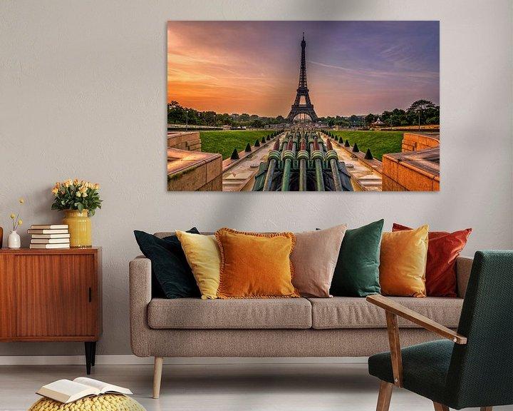 Sfeerimpressie: Eiffeltoren Parijs van Michiel Buijse