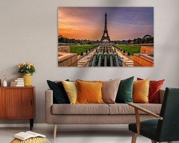 Eiffeltoren Parijs von Michiel Buijse