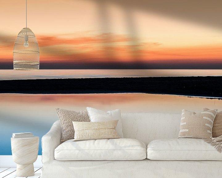 Sfeerimpressie behang: The golden hour van Herbert Seiffert