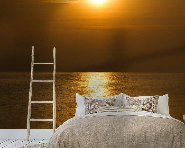 Beispiel fototapete: Sonne und Meer von Herbert Seiffert