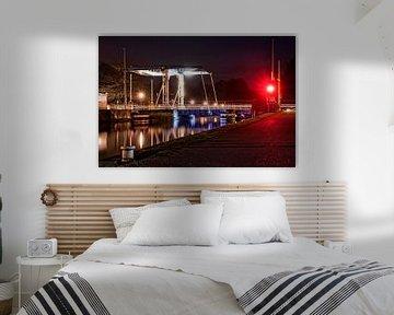 Havenbrug in Turnhout België. van François Kerremans