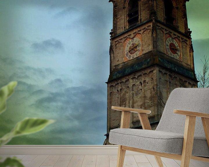Sfeerimpressie behang: Wasserburg am Inn 13 van Ilona Picha-Höberth