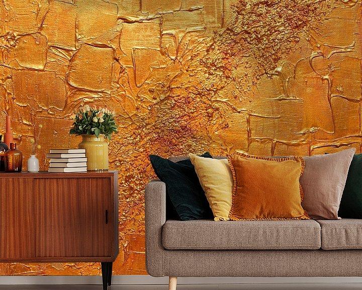 Sfeerimpressie behang: Abstract 25 van Julia Apostolova