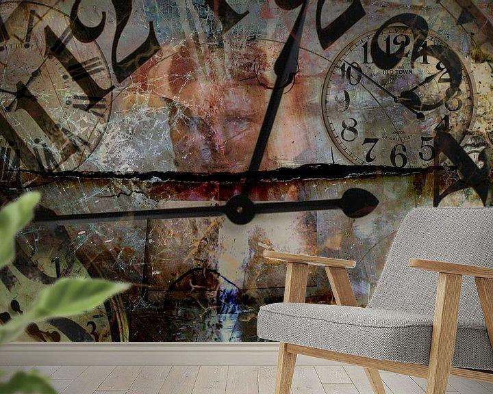 Beispiel fototapete: Tempus fugit von Harry van Rhoon
