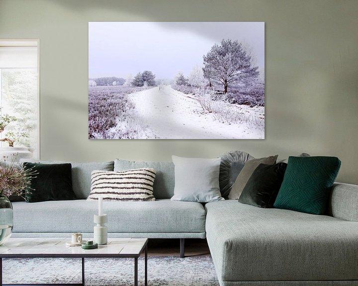 Sfeerimpressie: Moorland in Winter van Gisela Scheffbuch