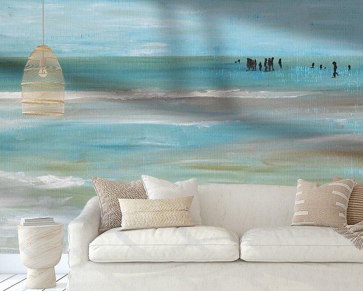 Sfeerimpressie behang: Broken Infinity van Chris Willems