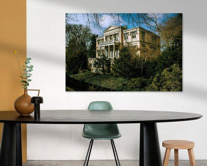 Sfeerimpressie: Oude villa in Rotterdam van Godelieve Luijk