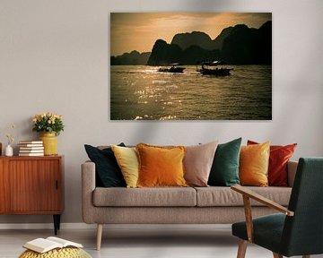 Bootjes in de zon in Vietnam