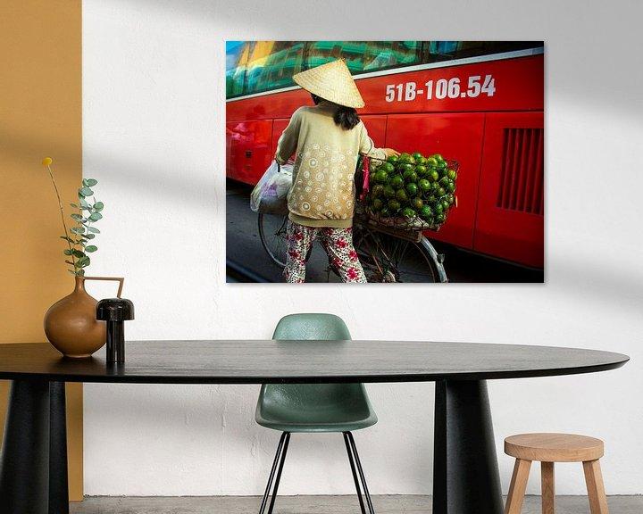 Sfeerimpressie: Vietnamese verkoopster van Godelieve Luijk