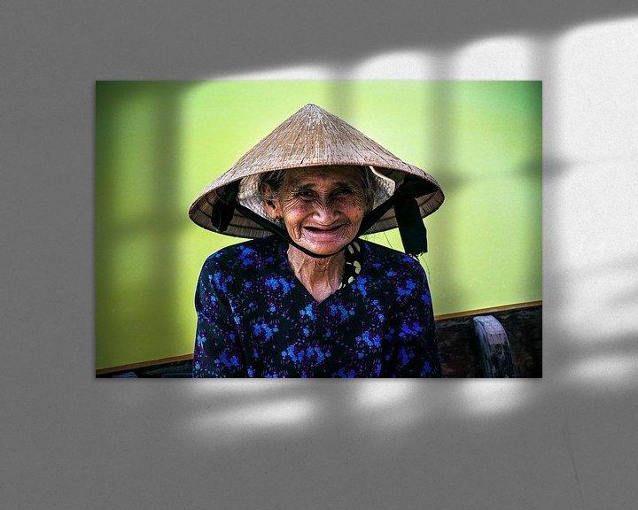 Sfeerimpressie: The Smiling Face of Vietnam van Godelieve Luijk