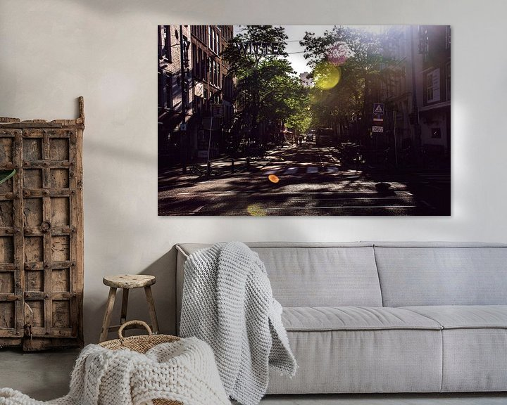 Sfeerimpressie: Zomers sfeertje in Rotterdam van Godelieve Luijk