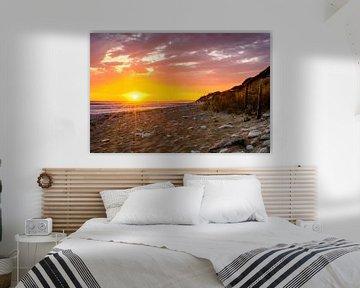 Ile d'Oleron, Sonnenuntergang am Strand